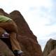 Up - Climbing at Red Rocks, Boulder, CO